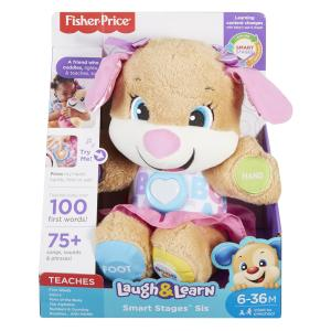 Fisher Price Sorellina del Cagnolino Smart Stages