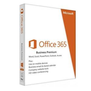Microsoft Office 365 Business Premium 1 Anno 5 PC o MAC Scatola